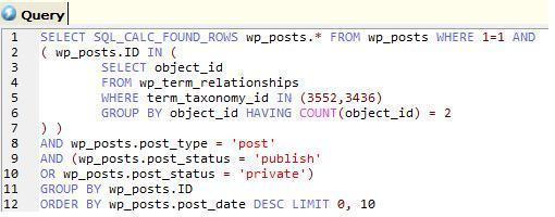 MySQL query