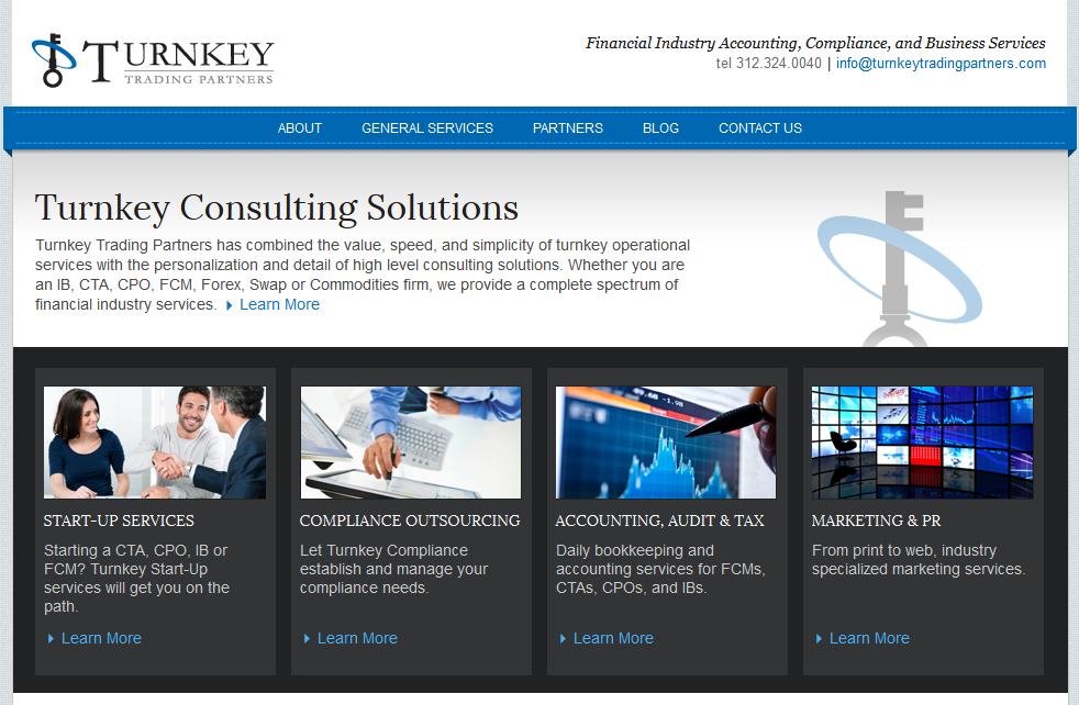 Turnkey Trading Partners (WordPress)