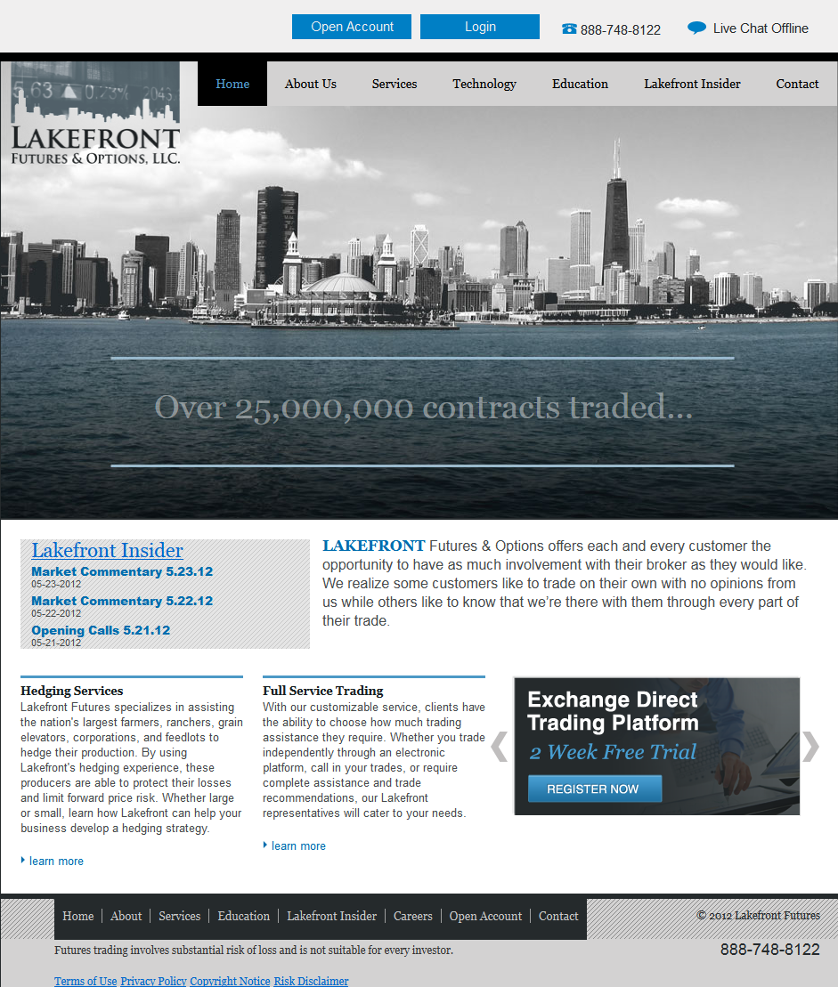 Lakefrontfutures (WordPress)