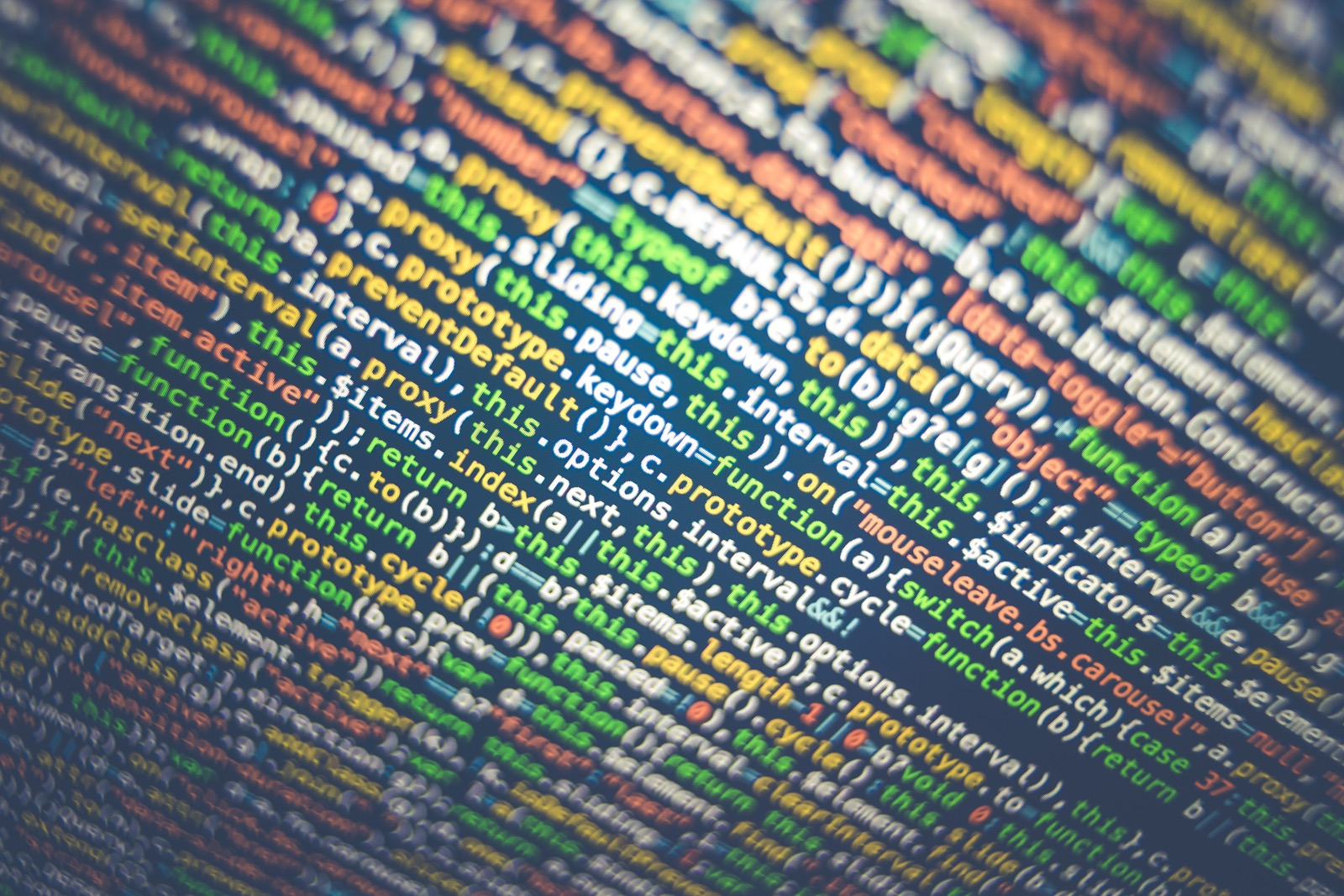 Code representing version control - Photo by Sai Kiran Anagani on Unsplash